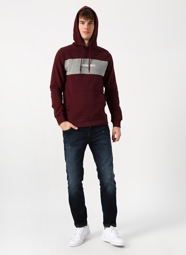 Jack & Jones Sweatshirt Bordo